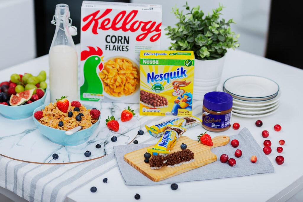 zdjęcia produktów żywnościowych